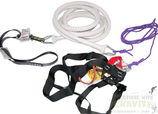 Gear for Bungee-Running